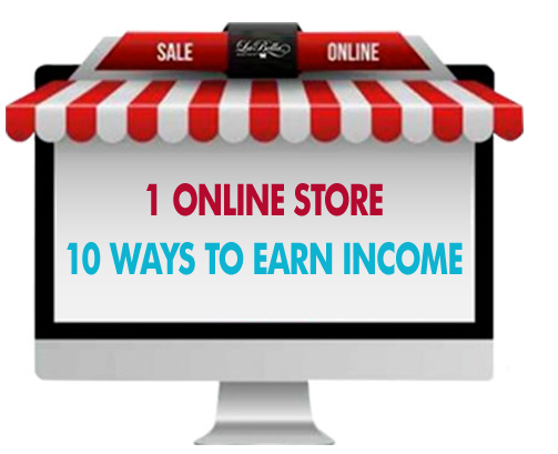 Ten ways to earn income image.